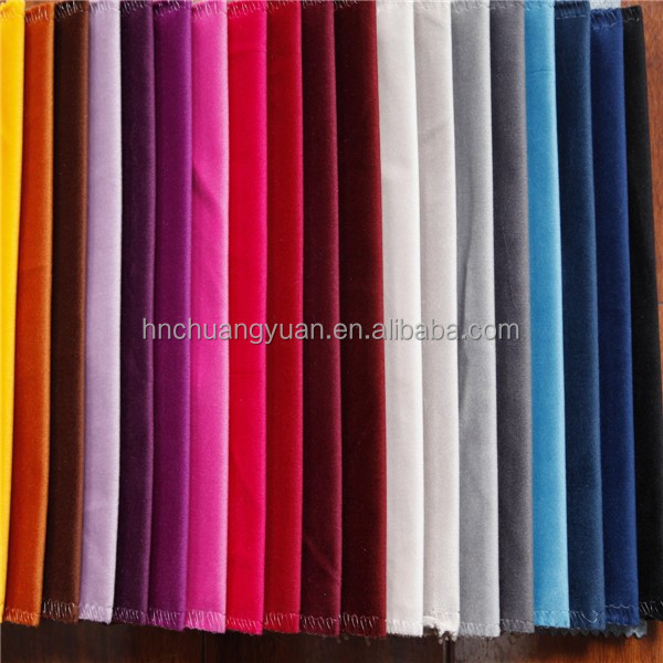 Best Selling Soft Touch Velvet Salwar Suits Fabric For Men Garment By Haining Manufactory