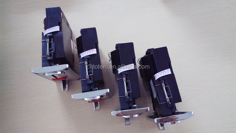 1~6 different value coin acceptor for arcade game machine