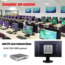 Desktop mini PC for computer lab language lab solution core i3 i5 i7 celeron all in one pc