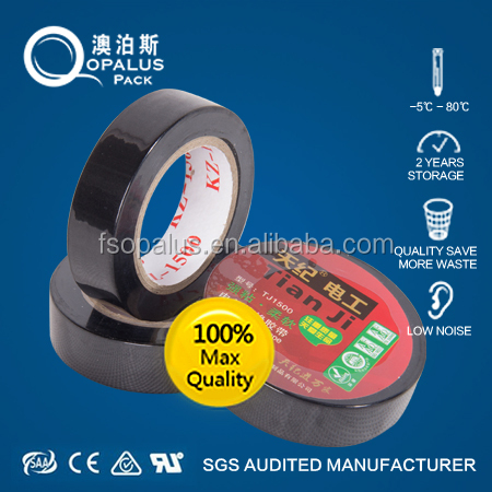 Dielectric colorful electric insulation tape
