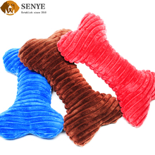 Wholesale Pet Bone Voice Chew Niblet Plush Dog Toy