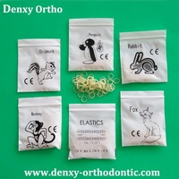zoo pack orthodontic products/dental elastic bands /orthodontics elastics
