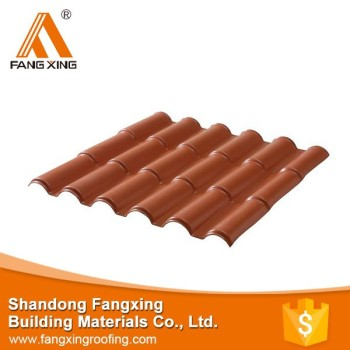 Alibaba China supplier roman tile roof ,synthetic resin pvc patio roof