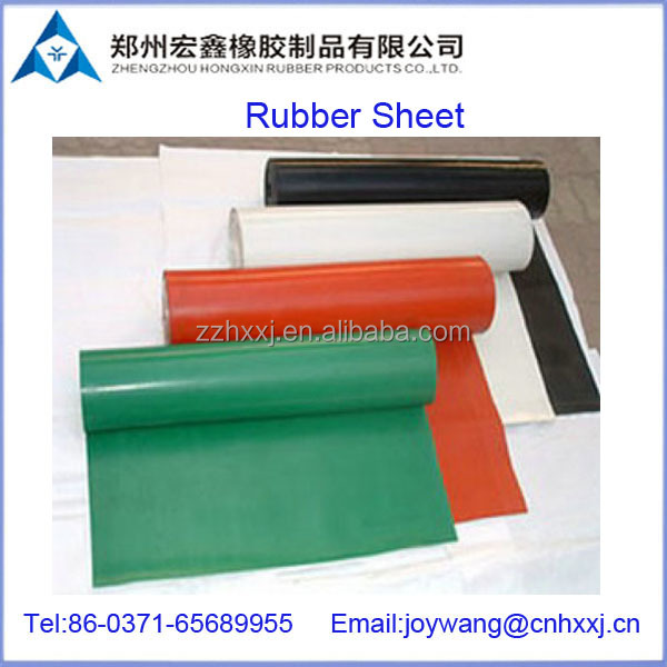 bright color silicone rubber sheet/mat