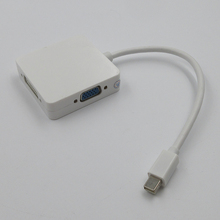 Premium mini displayport DP to HDMI DVI VGA converter Adapter cable