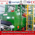Steel plate rust remover wheel blasting machine with rollers