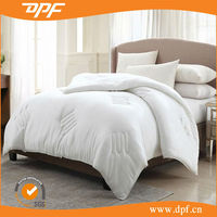 single bed china wholesale stain high quality white duck down quilt duvet
