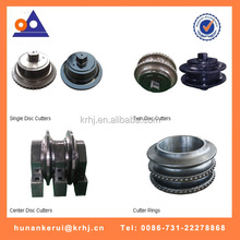 most efficient roller disk cutter /TBM roller cutters/TBM cutter disks for tunnel boring machines
