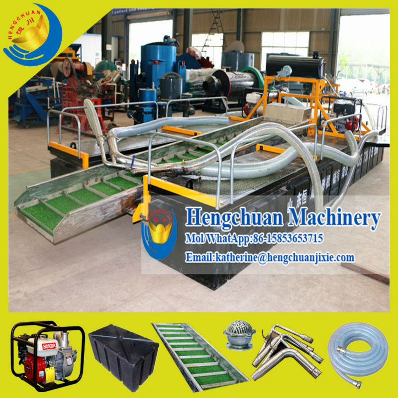 China Mini River Gold Prospecting Equipment for Gold Mining