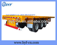 BYF 40FT Heavy Duty Transport Semi Trailers Top Trailer Factory
