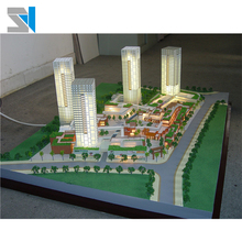 Residential house model for real estate project marketing, scale model