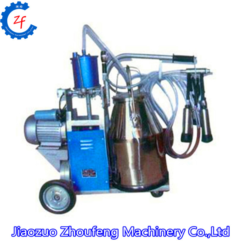 vacuum pump portable bucket milker/single double portable cow milking machine
