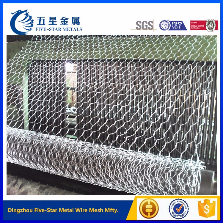 hexagonal wire poultry bird netting for agriculture