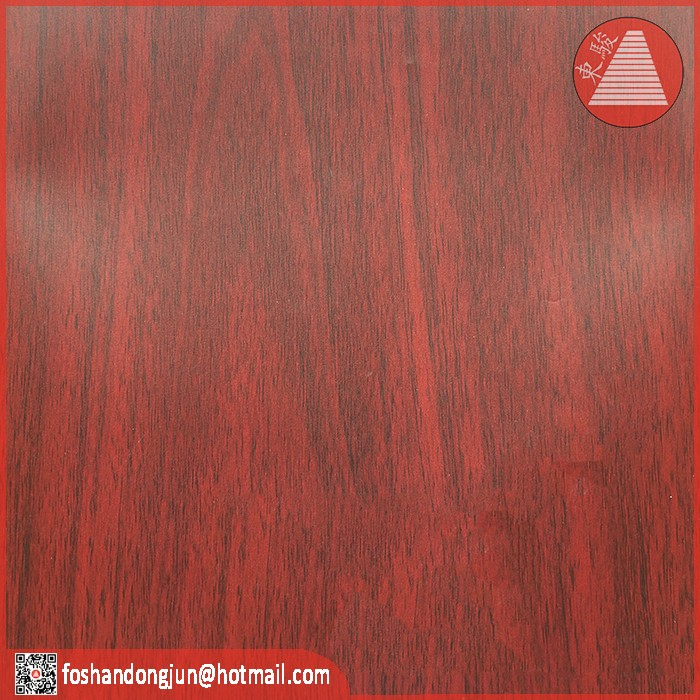 Decoration wooden color paper for furniture covering