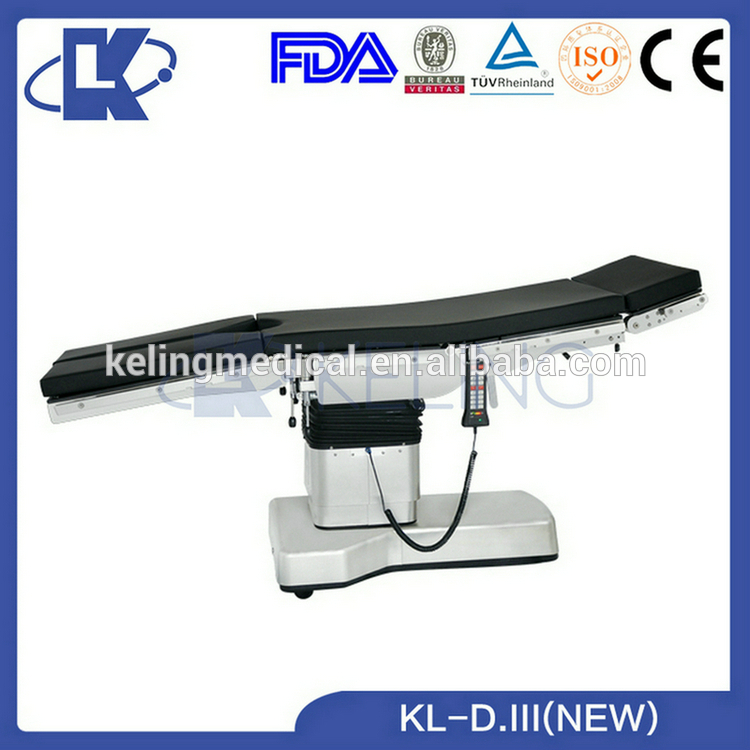 Top grade professional hospital standard keling Imported hydraulic operating table parts