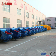 China famous HBT60 small concrete pump with capacity of 60m3/h