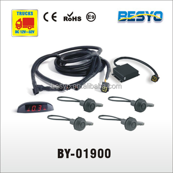Heavy vehicle parking sensor system, car, van,bus,truck 24V parking sensor system BY-01900