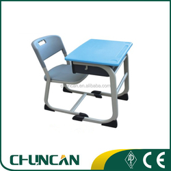 2016 Student used single lifting desk and chairs school classroom used furniture