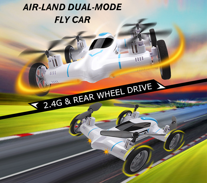 Syma X9 2.4G 4CH 6Axis Speed Switch With 3D Flips Flying Car RC Quadcopter