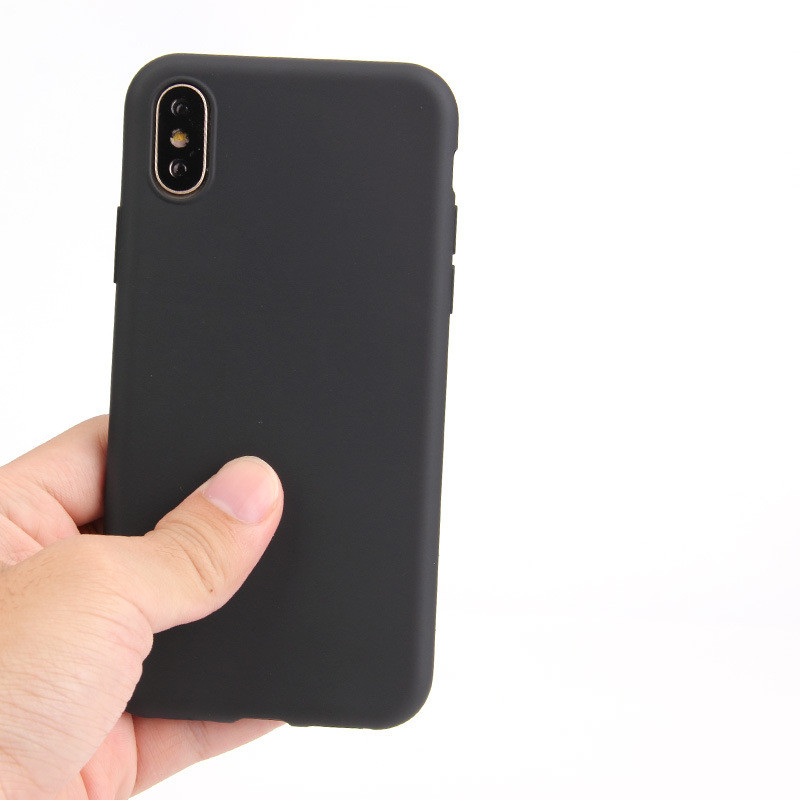 Wholesale Frosted TPU Back Phone Case for iPhone X