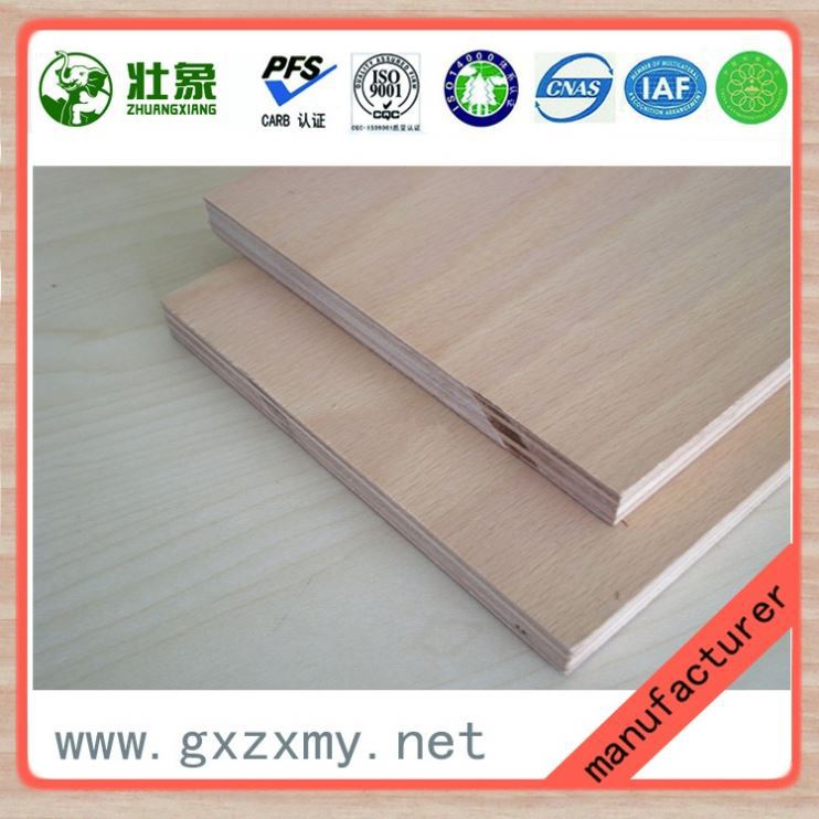 China Manufacturer Wholesale high quality 6-27mm film faced plywood / Brown film , Black film