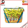 Coconut tree Cosmetic Bag Wristlet Lovely Bag