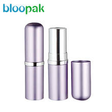Chubby stick plastic cosmetic packaging lipstick pencil empty lipstick tube