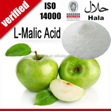 Direct factory price 25kg FCC IV organic food grade l-malic acid