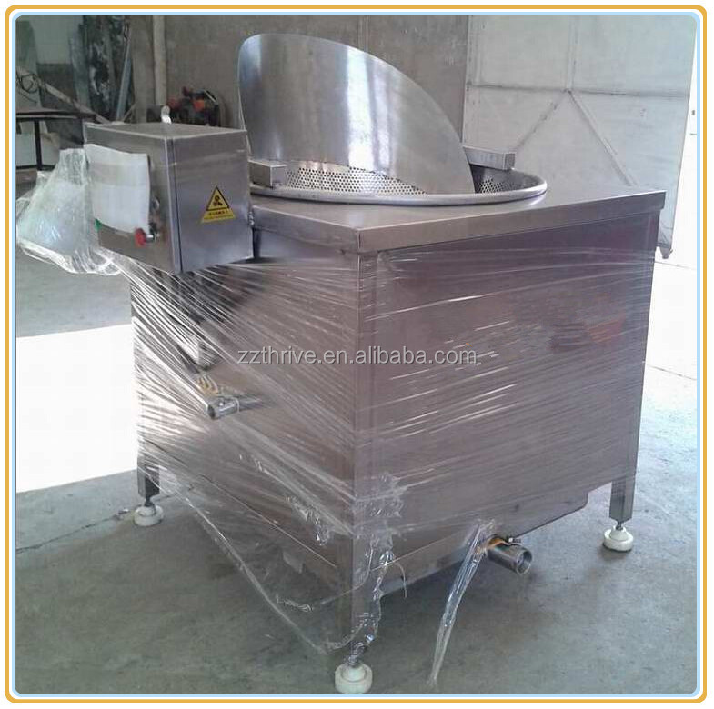 Industrial fried chicken making machine price,potato chips deep fryer