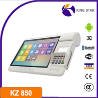 Dual Core Android OS Smart Terminal with NFC/RFID/Qr-Code/Mag-Card/IC-Card