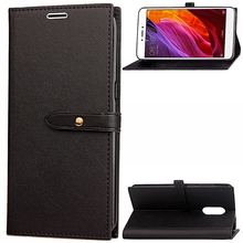 China suppliers new mobile accessory magnetic flip smart pu leather phone cover case for xiaomi redmi note 4x