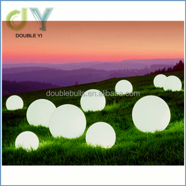 RGB color change solar glow balls led floating pool decorations balls of light for pool ball light