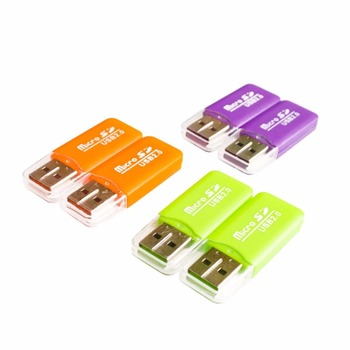 Mini Usb 2.0 SD TF Memory Card-Reader Adapter for Raspberry Pi