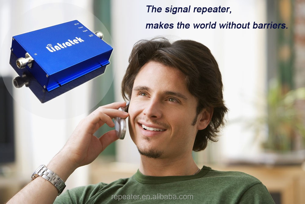 Good apparance and AGC function dual band mobile signal booster amplifier repeater