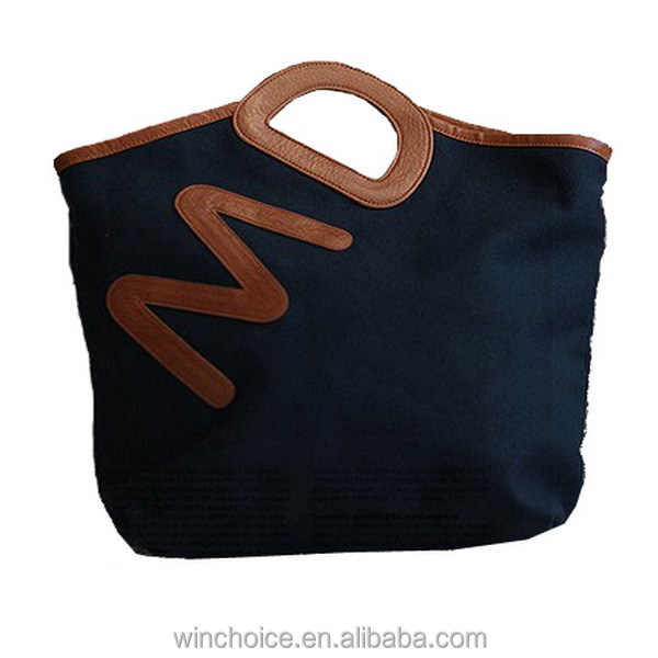 Best selling new design cotton material cork bag/cork handbags/lady cork bags