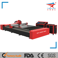 High Efficient Fiber Laser Cutting Machine for Metal With Good Performance
