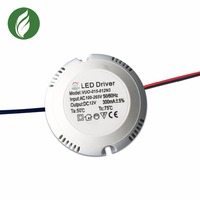 24v 0.62A 15W waterproof IP67 constant voltage led driver module 24v with PFC EMC