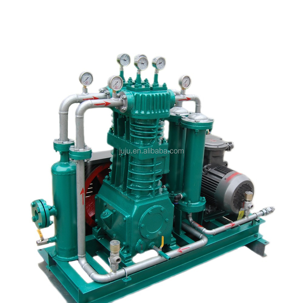high pressure piston air compressor biogas compression biogas compressors