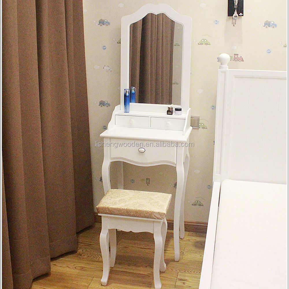 French professional wooden make up dressing table with modern design