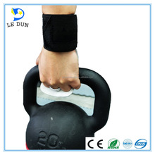 Workout Grips Fitness Crossfit GYM Weight Lifting Gloves Leather Hand Callus Guard Wrist Support Wraps