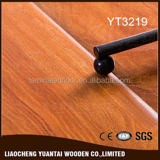 Promotion hot sale american Ticino Walnut laminate floor