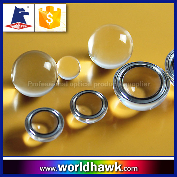 1mm to 100mm K9 Optical Glass Ball Lens half ball lenses