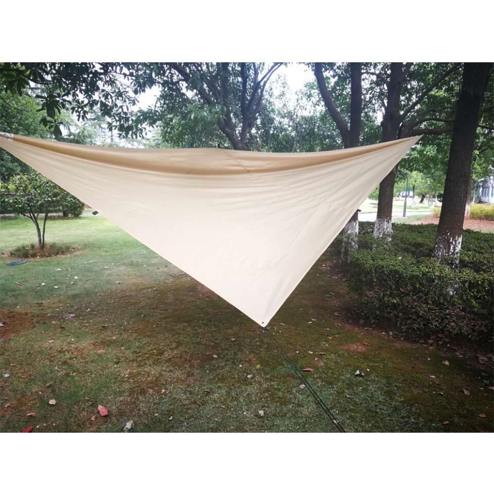 YKSP-203 2017 Trending Products Nylon Rain-proof & Anti UV Fabric Hammock Rain Tarp, Portable Hammock Cover Rain Shelter
