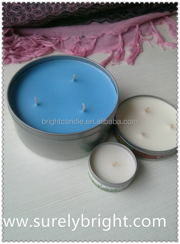 citronella oil 3% tin candles for garden use 2015 3 wicks