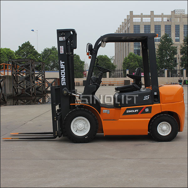 HOT! Sinolift CPC(D) Series 2-3.5t Load Capacity Diesel Forklift