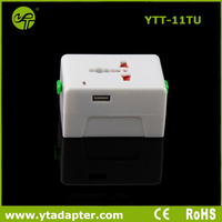 New design travel plug socket with UK/USA/EU/AU