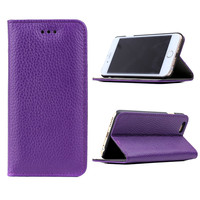 100% real leather case for iPhone 6 business real leather case