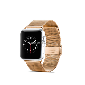 Genuine Stainless Steel Strap Wrist Band Watchband For Apple Watch All Models 42mm 38mm