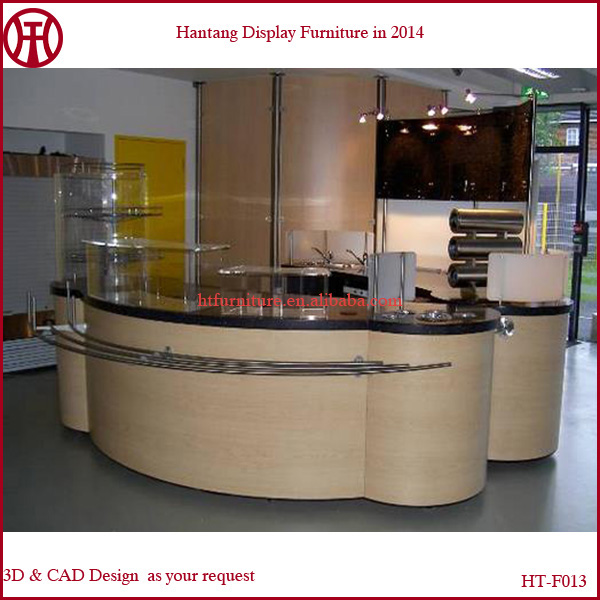 10*10 feet indoor coffee kiosk design usage of coffee, frozen yogurt, juice