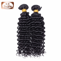 Cheap virgin Brazilian hair styles pictures 8''-30'' natural color deep wave Brazilian human hair sew in weave